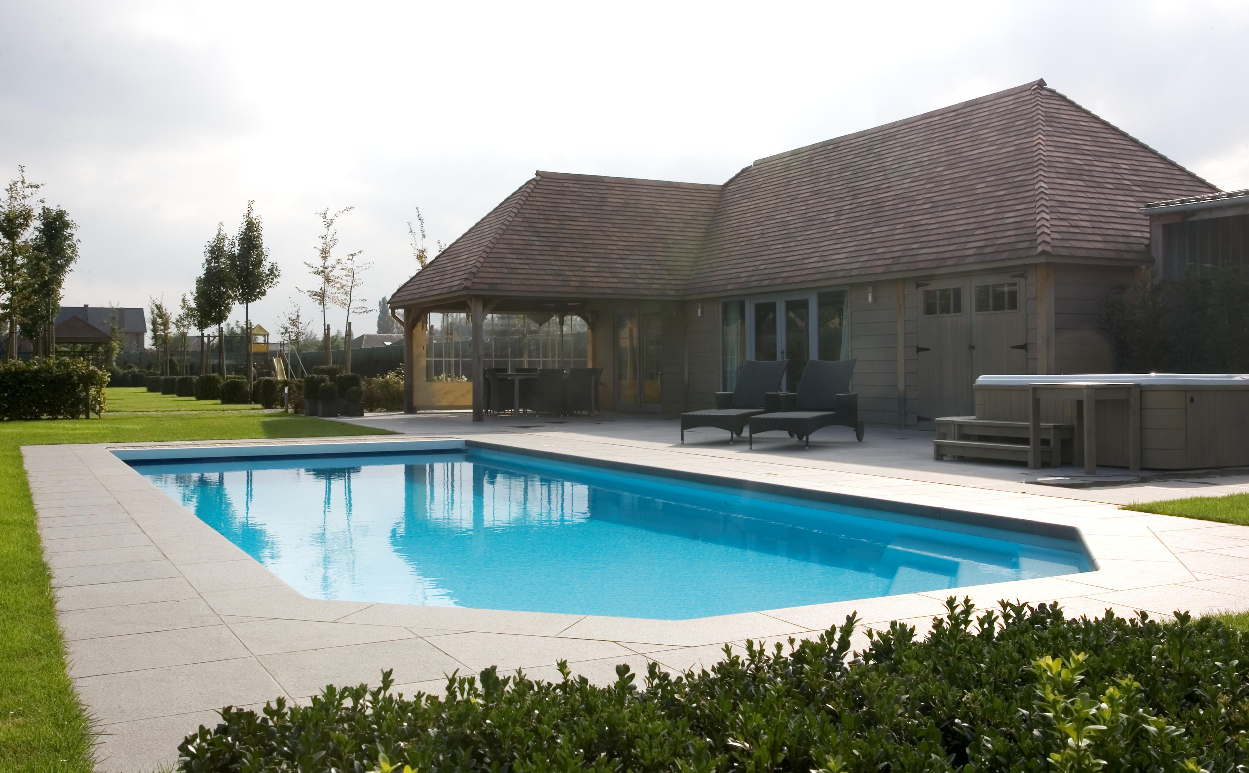 Aquapool een zwembad bouwen zonder zorgen het kan - Ontwikkeling rond het zwembad ...