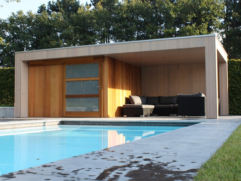 Poolhouse Bij Aqua Pool Belgium In Waasmunster