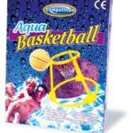 Drijvend basketbalkorf spel