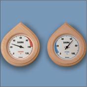 Sauna-thermo-hydrometer-houten