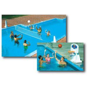 Swimline Pool Jam Volleyball-Basketball