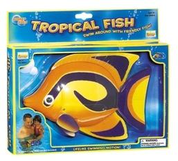 Tropical fish op batterijen