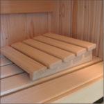 Sauna hoofdsteun